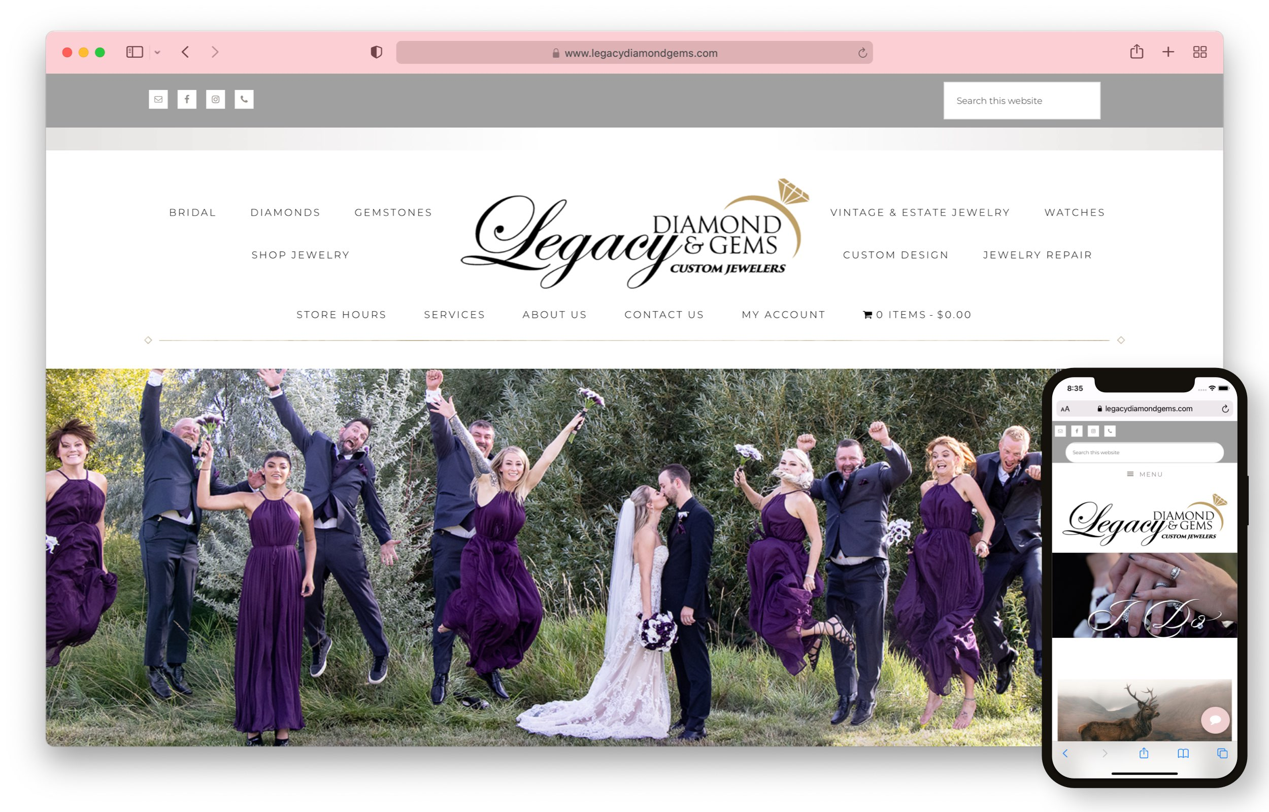 Legacy Diamond and Gems Screenshot Image