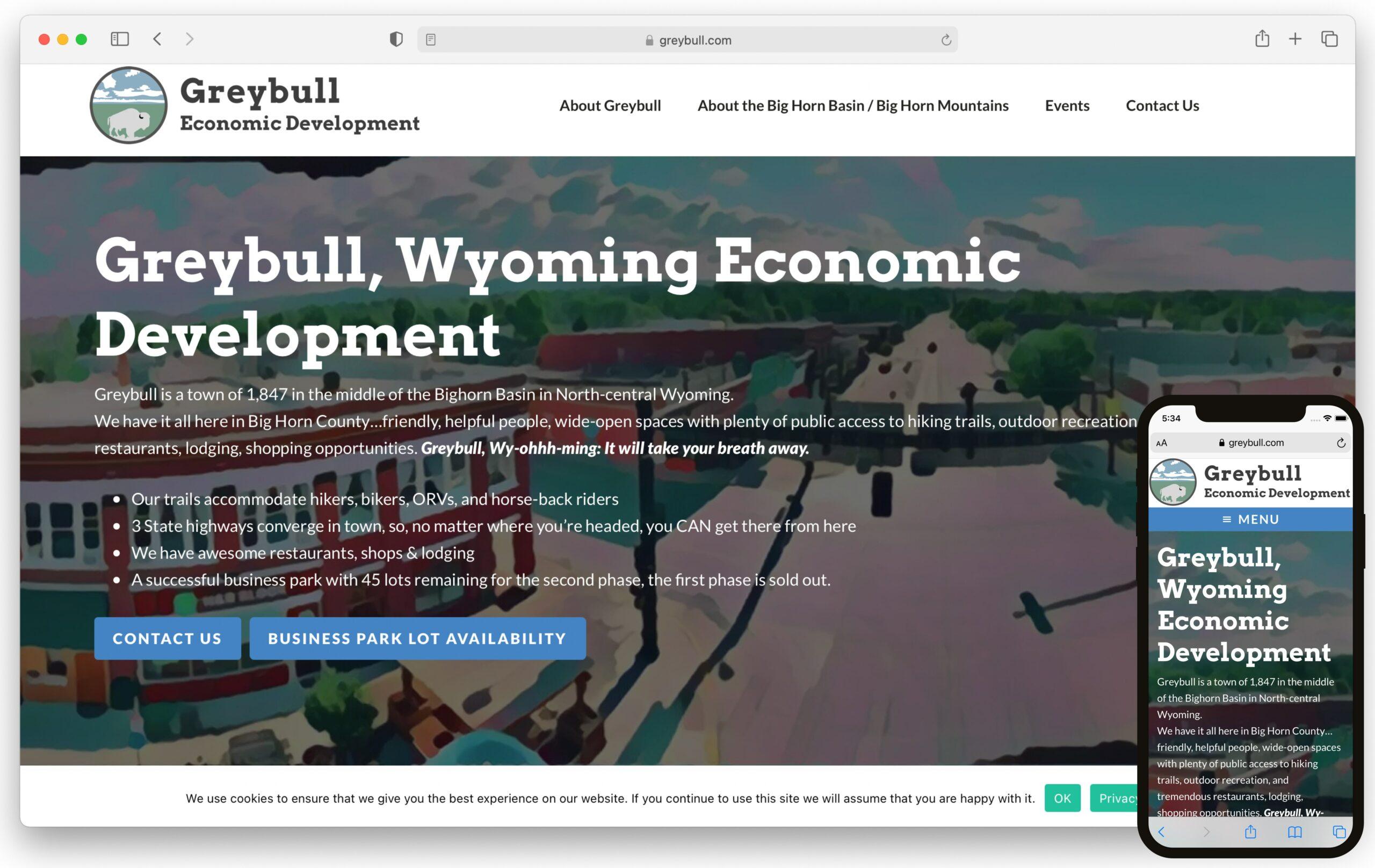 Greybull.com Screenshot